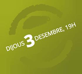 Dijous 3 de desembre, 19h Dia Internacional del Voluntariat