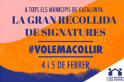 Curs-taller: 'Gran Recollida de Signatures #volemacollir'